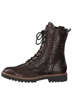 Tamaris - Ankle Boot - cafe croco