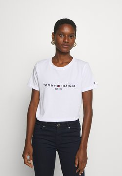 Tommy Hilfiger - Camiseta estampada - white