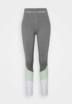 Pink Soda - SPLICE - Tights - grindle/green/white
