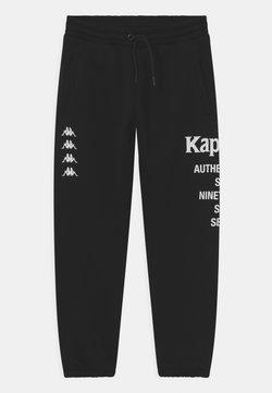 Kappa - JAGO UNISEX - Spodnie treningowe - caviar
