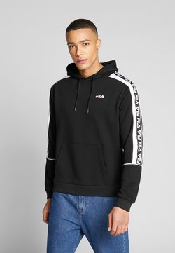 Fila - TEFO - Sweat à capuche - black/bright white