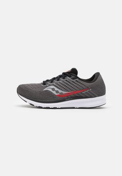Saucony - RIDE 13 - Scarpe running neutre - charcoal/red