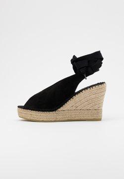 Vidorreta - Korolliset sandaalit - black