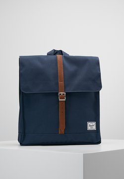Herschel - CITY MID VOLUME - Reppu - navy/tan