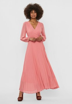 Vero Moda - VMLAUREN WRAP DRESS - Cocktailkleid/festliches Kleid - tea rose
