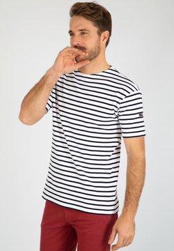 Armor lux - DOËLAN MARINIÈRE - T-Shirt print - blanc navire