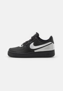Nike Sportswear - AIR FORCE 1 '07 LV8 3M UNISEX - Sneaker low - black/metallic silver