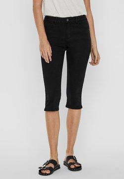 Vero Moda - VMSEVEN  - Jeansshort - black
