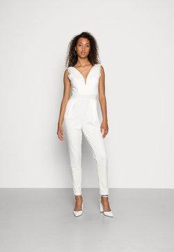 WAL G. - BELLA V NECK  - Overall / Jumpsuit - white
