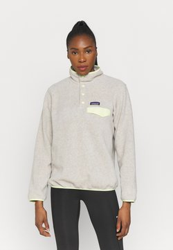 Patagonia - SYNCH SNAP - Fleecetröja - oatmeal heather/jellyfish yellow