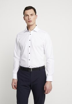 Seidensticker - BUSINESS KENT PATCH SLIM FIT - Businesshemd - white