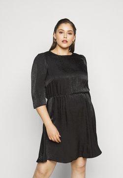 Vero Moda Curve - VMJENICE SHORT DRESS - Freizeitkleid - black