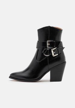 ONLY SHOES - ONLBLAKE STRAP BOOT - Botki - black