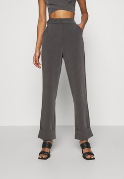 4th & Reckless - BLAISE TROUSER - Stoffhose - grey