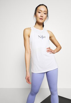 Nike Performance - DRY TANK YOGA - Funktionsshirt - summit white