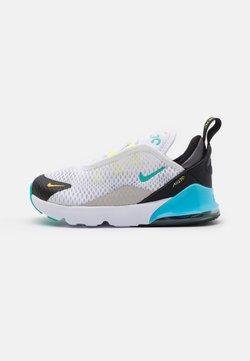 Nike Sportswear - AIR MAX 270 UNISEX - Sneakersy niskie - white/hyper jade/black/light graphite