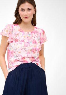 ORSAY - MIT BLUMENMUSTER - T-Shirt print - schafgarbe
