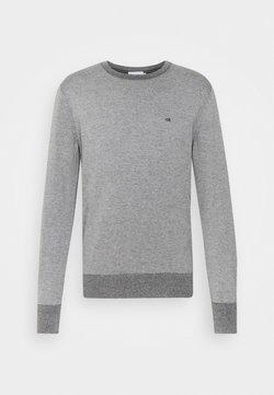 Calvin Klein - C NECK SWEATER - Stickad tröja - mid grey heather