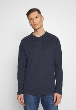 Pier One - Pitkähihainen paita - mottled blue