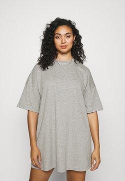 Pieces Curve - PCCHILLI SUMMER DRESS - Vestido informal - light grey melange