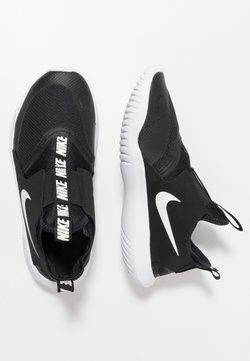Nike Performance - FLEX RUNNER - Neutral running shoes - black/white