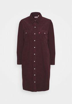 Levi's® - SELMA DRESS - Skjortekjole - malbec