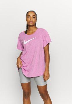 Nike Performance - DRY TEE PLUS - Printtipaita - beyond pink/cactus flower