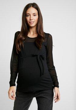 MAMALICIOUS - MLMATILDA - Camiseta de manga larga - black