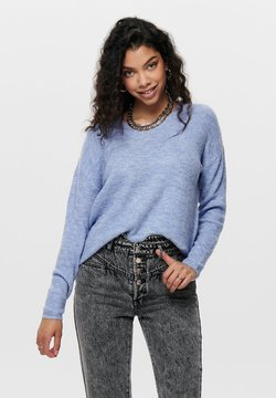 ONLY - ONLCAMILLA - Strickpullover - light blue