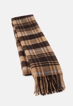 Weekday - REI SCARF - Sjaal - dark brown/tan