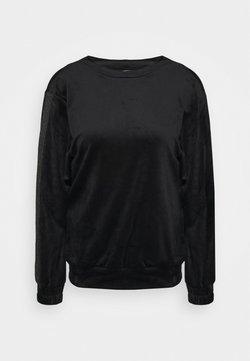 Hunkemöller - TOP SHIMMER TAPE - Nachthemd - black