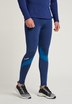 Hummel - HMLALONZO  - Tights - medieval blue