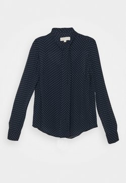 MICHAEL Michael Kors - PERFECT DOTS BOW BLOUSE - Hemdbluse - dark blue