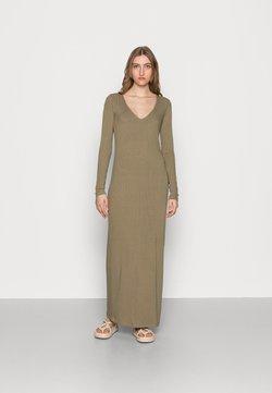 Samsøe Samsøe - PATTY LONG DRESS  - Maxiklänning - covert green