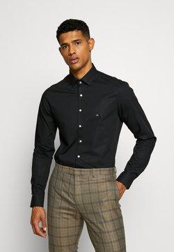 Calvin Klein Tailored - STRETCH SLIM - Zakelijk overhemd - black