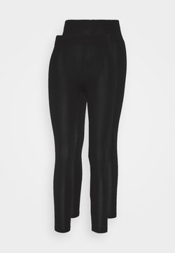 Dorothy Perkins Petite - 2 PACK - Legging - black
