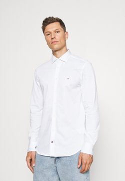 Tommy Hilfiger Tailored - SOLID SLIM SHIRT - Businesshemd - white