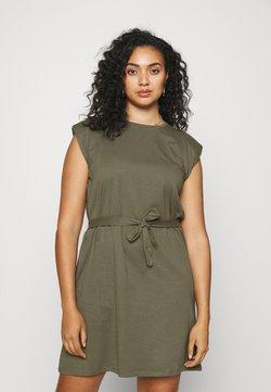 ONLY Carmakoma - CARJENNY LIFE DRESS - Jersey dress - kalamata