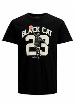 Jack & Jones Junior - JCOLEGENDS TEE SS CREW NECK JR - T-shirt con stampa - black