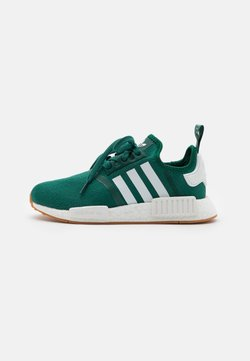 adidas Originals - NMD R1 UNISEX - Sneakers laag - collegiate green/footwear white
