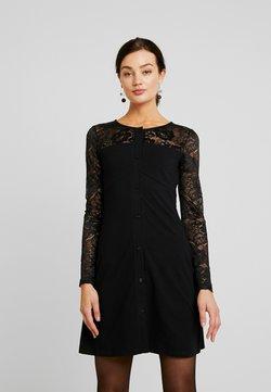 Urban Classics - LADIES BLOCK DRESS - Robe fourreau - black