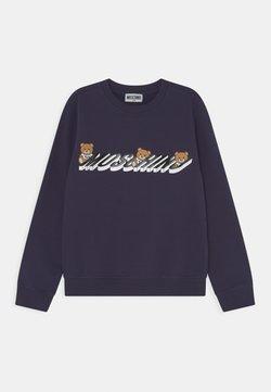 MOSCHINO - ADDITION UNISEX - Sweatshirt - navy blue