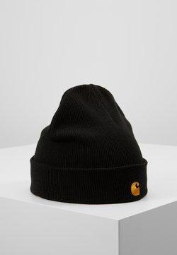 Carhartt WIP - CHASE BEANIE UNISEX - Bonnet - black/gold