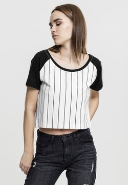 Urban Classics - T-Shirt print - white/black