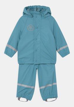 Color Kids - SET SOLID UNISEX - Regnjacka - delphinium blue