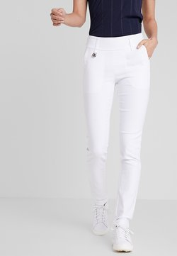Daily Sports - MAGIC PANTS - Stoffhose - white