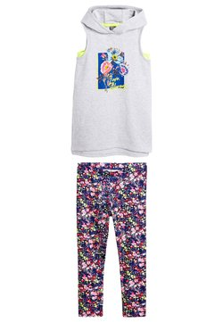 Next - GREY FLORAL SPORTS AND LEGGING SET (3-16YRS) - Smanicato - grey
