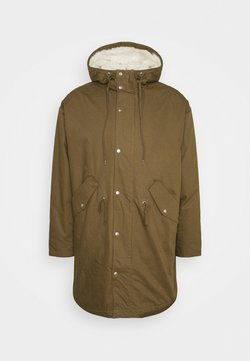 Weekday - ELMER  - Parka - dark khaki green