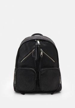 Topshop - ZIP SKATER BACKPACK - Rucksack - black