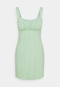 Hollister Co. - BARE DRESS - Vestido ligero - pistachio floral